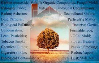 Contaminantes aire hogar NeumoTeknon